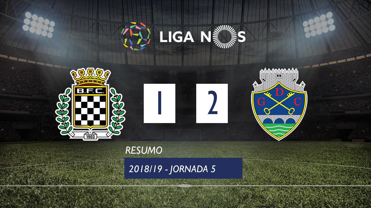 I Liga (5ªJ): Resumo Boavista FC 1-2 GD Chaves