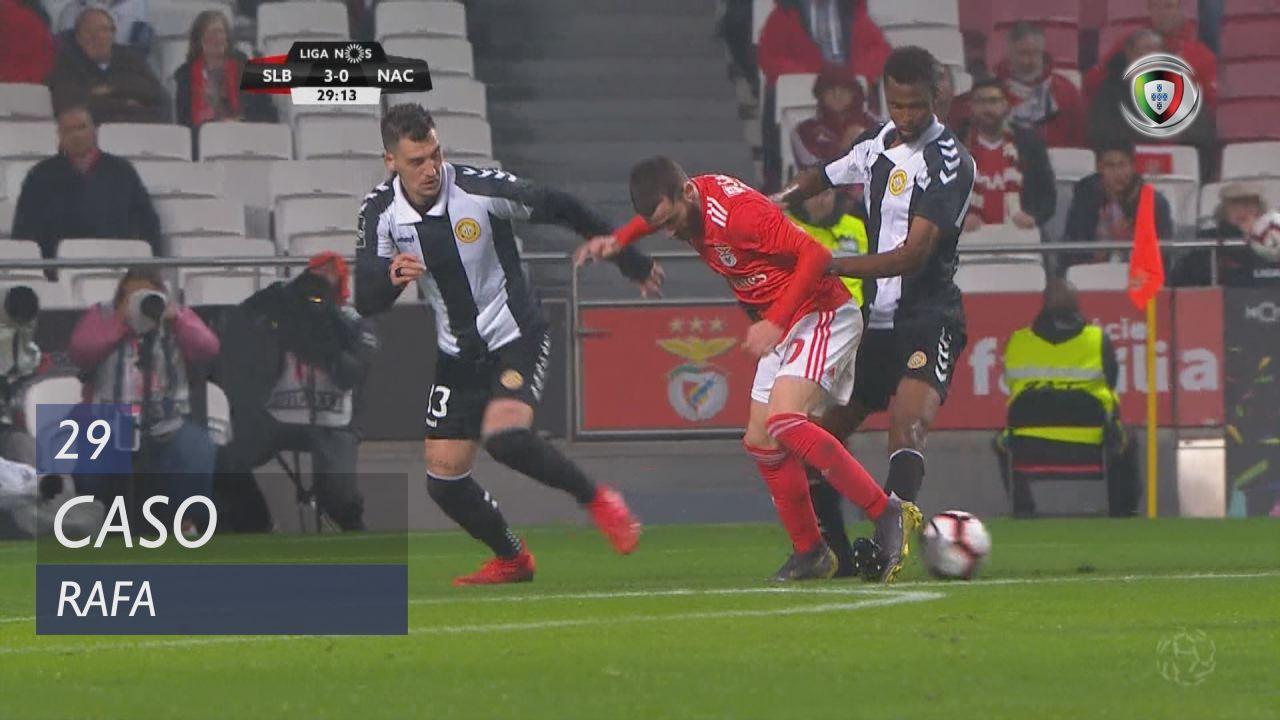 Benfica Nacional Resumo: SL Benfica, Caso, Rafa, 29m