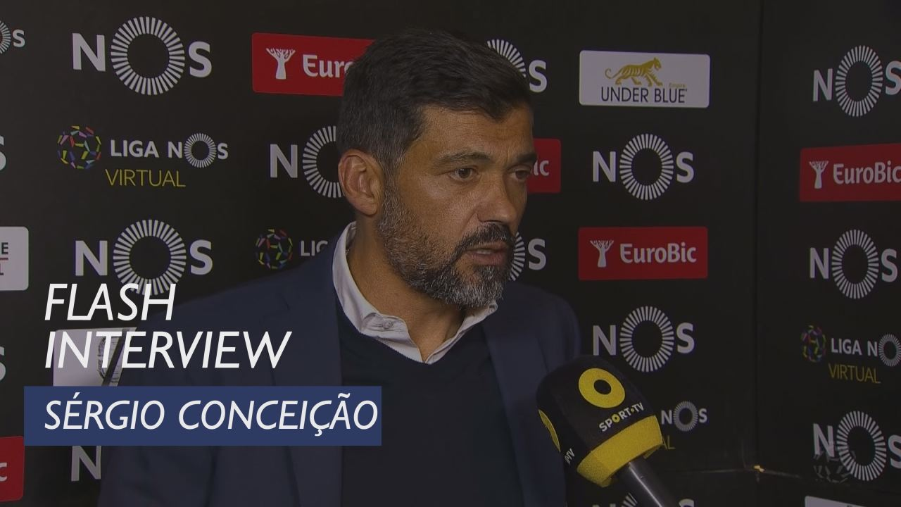Liga (30ª): Flash Interview Sérgio Conceição