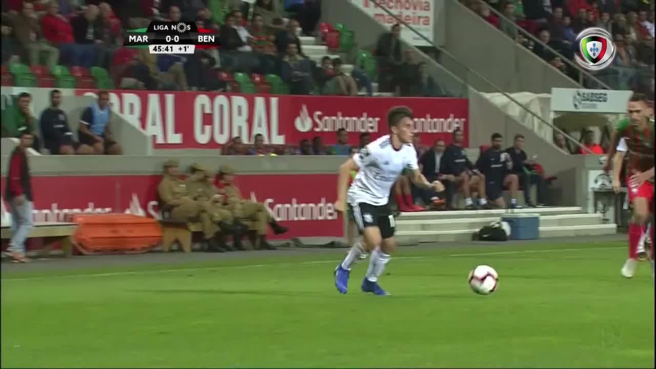 GOLO! SL Benfica, Jonas aos 45'+2', Marítimo M. 0-1 SL Benfica