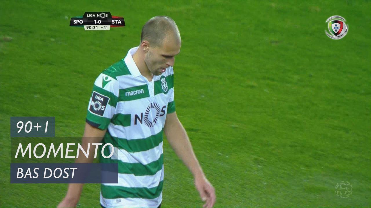 Sporting CP, Jogada, Bas Dost aos 90'+1'