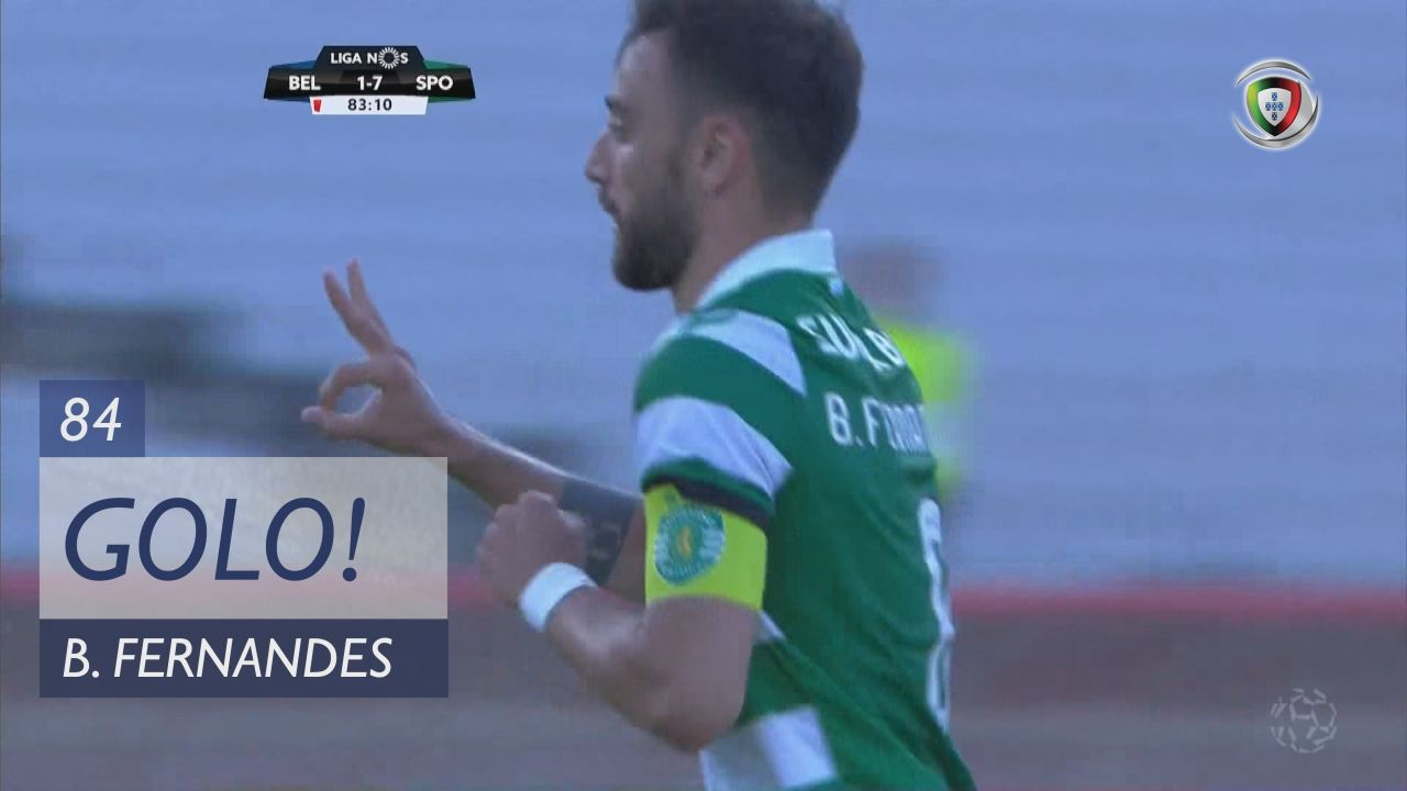 GOLO! Sporting CP, Bruno Fernandes aos 84', Os Bel...