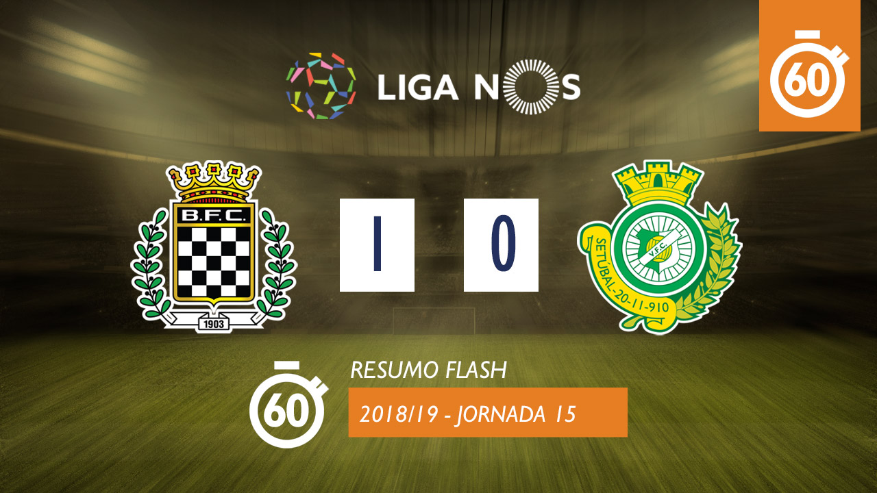 I Liga (15ªJ): Resumo Flash Boavista FC 1-0 Vitória FC