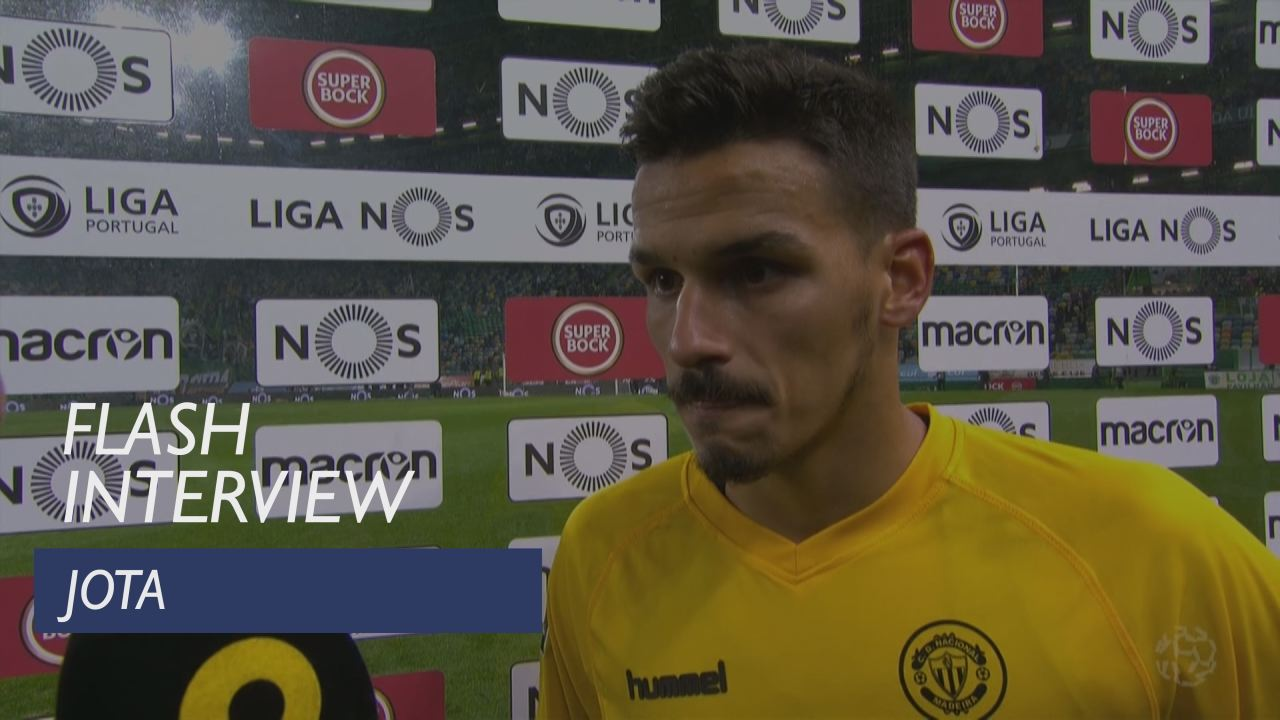 Liga (13ª): Flash interview Jota