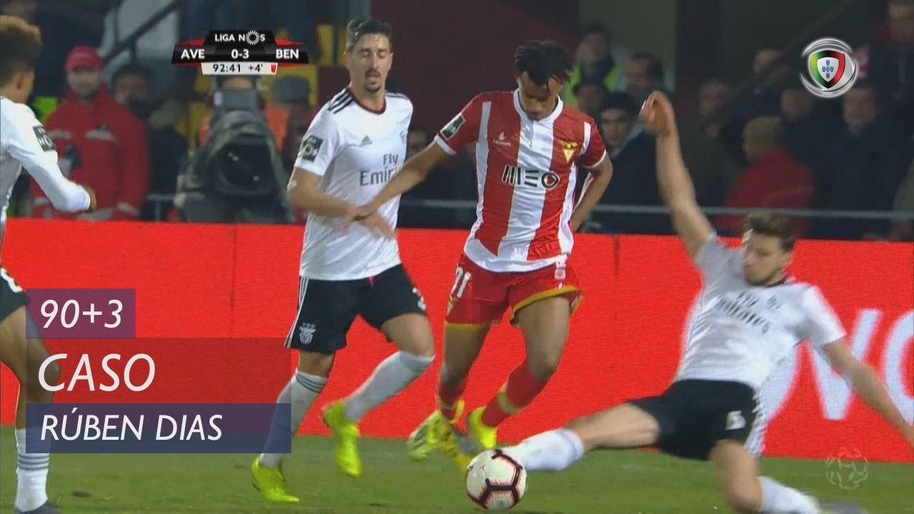 SL Benfica, Caso, Rúben Dias aos 90'+3'