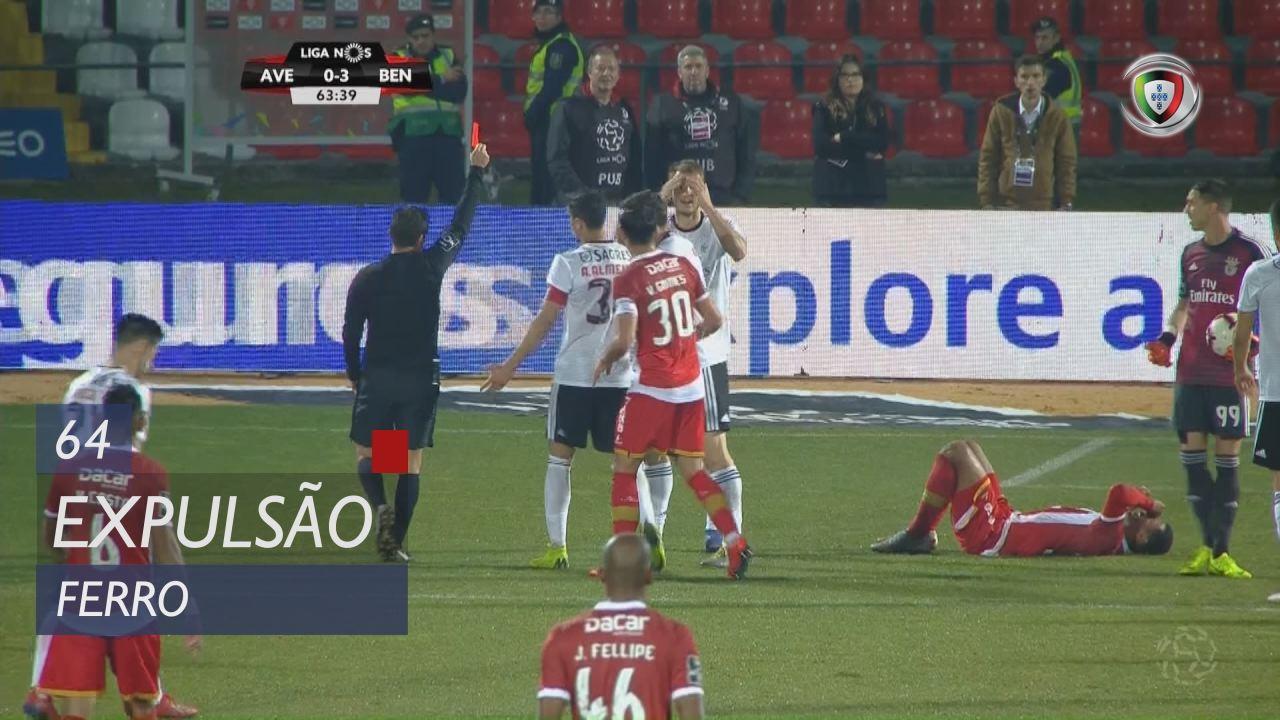 SL Benfica, Expulsão, Ferro aos 64'