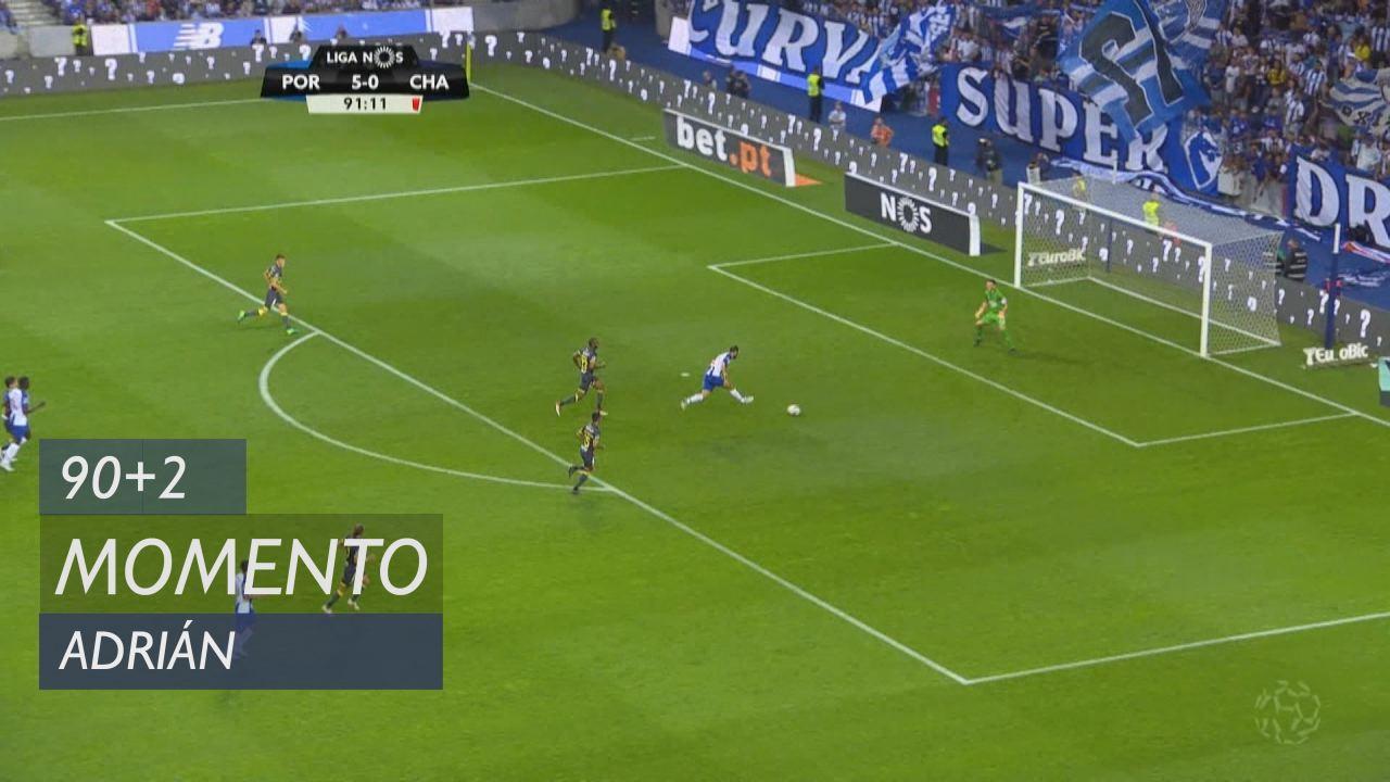 FC Porto, Jogada, Adrián aos 90'+2'