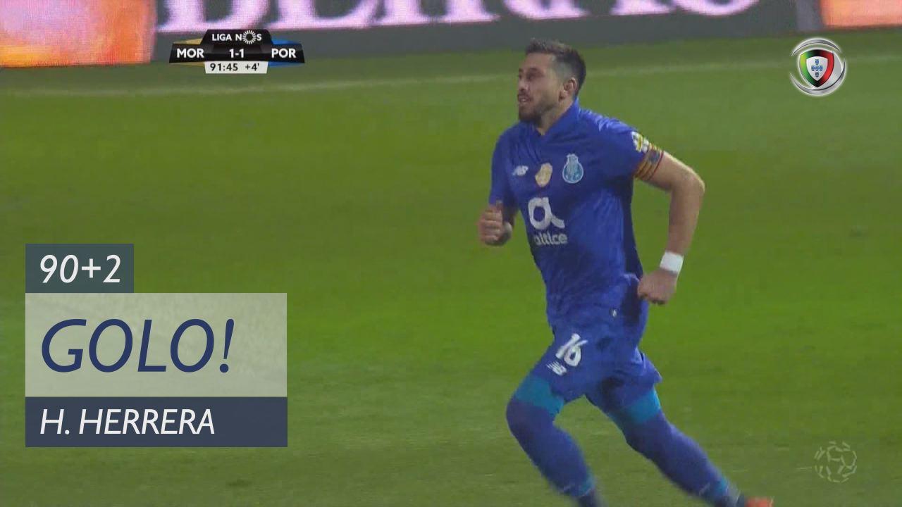 GOLO! FC Porto, H. Herrera aos 90'+2', Moreirense FC 1-1 FC Porto