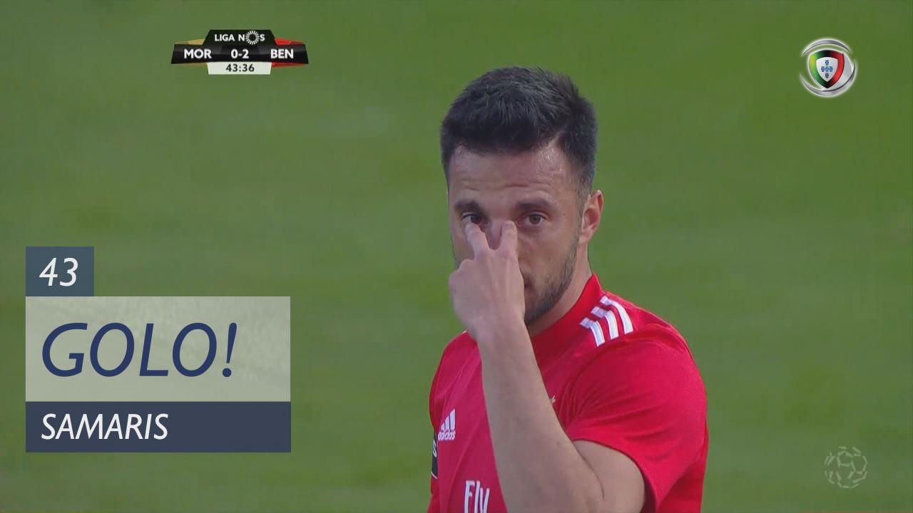 GOLO! SL Benfica, Samaris aos 43', Moreirense FC 0-2 SL Benfica