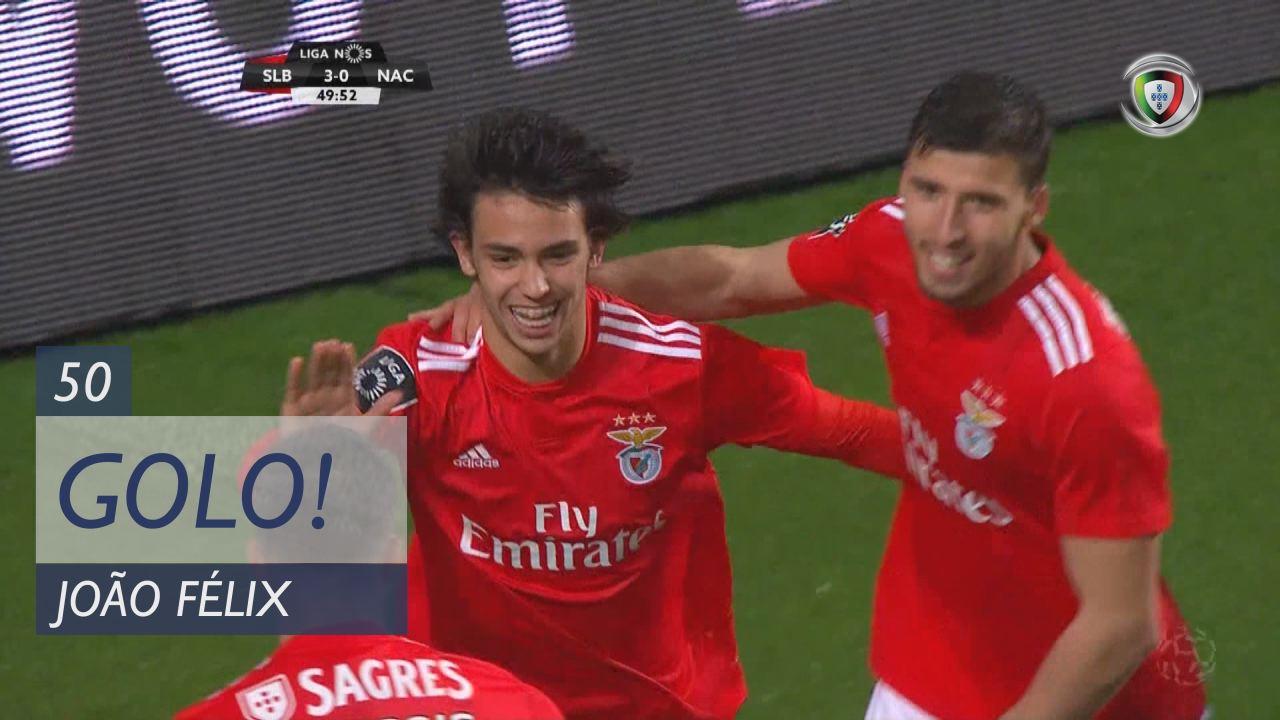 GOLO! SL Benfica, João Félix aos 50', SL Benfica 4-0 CD Nacional