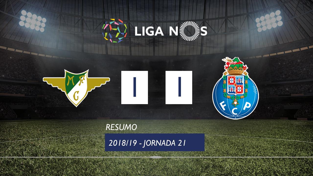 I Liga (21ªJ): Resumo Moreirense FC 1-1 FC Porto