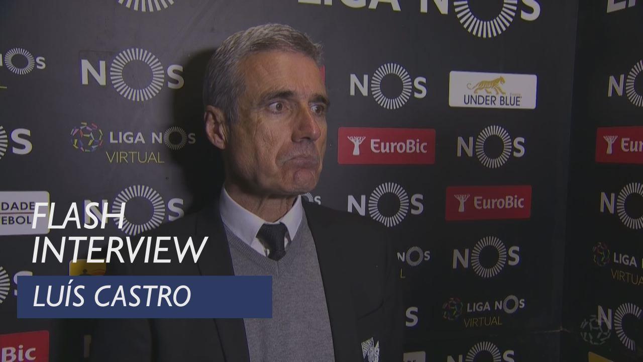 Liga (18ª): Flash interview Luís Castro