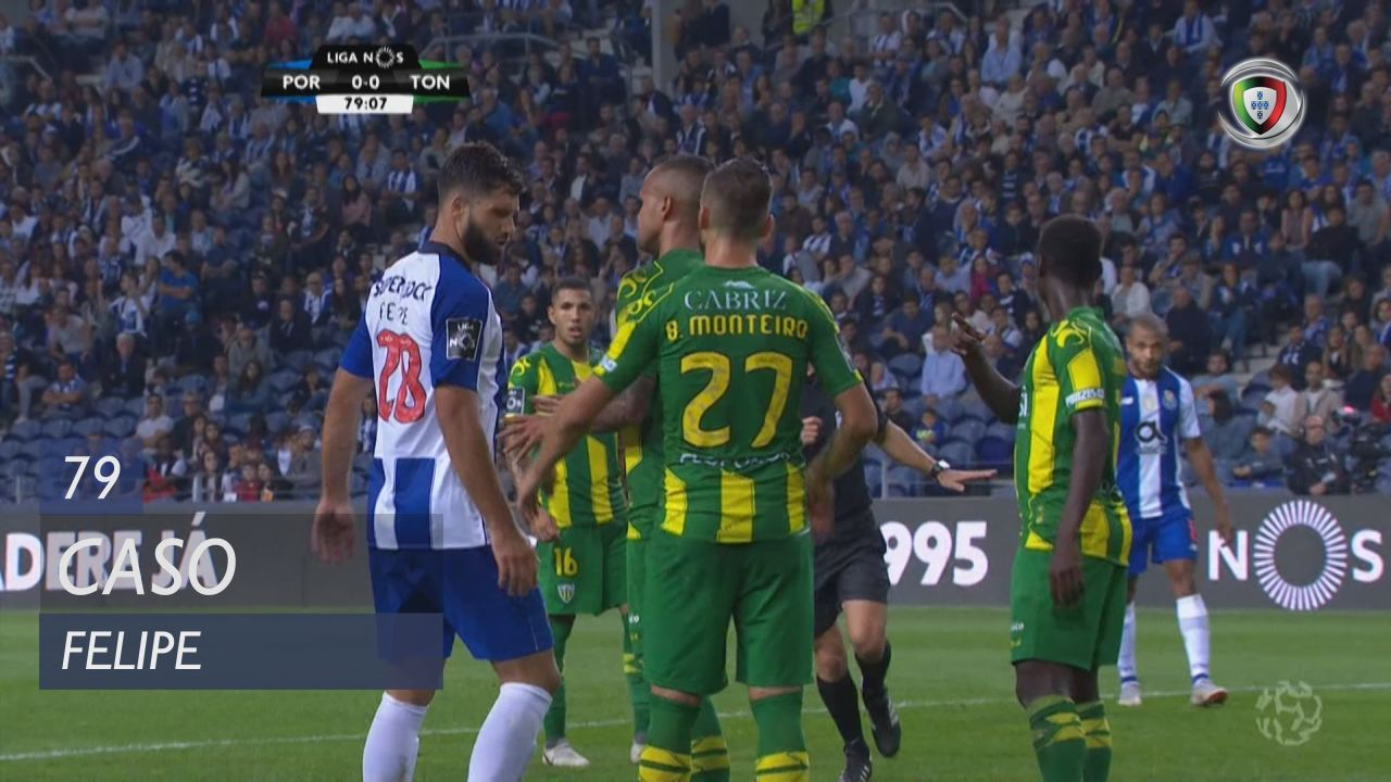 FC Porto, Caso, Felipe aos 79'