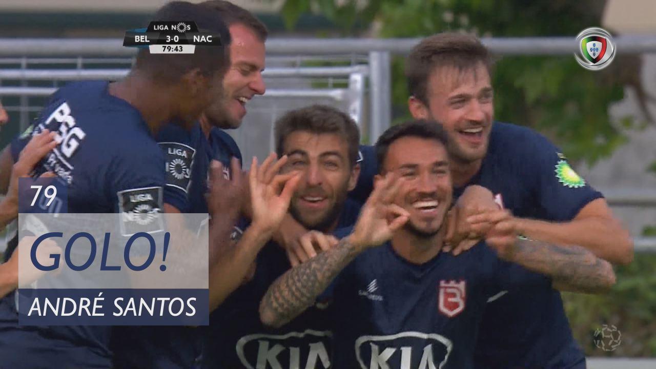 GOLO! Belenenses SAD, André Santos aos 79', Belenenses SAD 3-0 CD Nacional