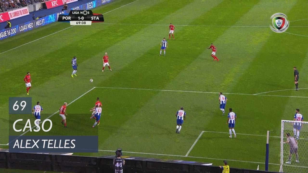 FC Porto, Caso, Alex Telles aos 69'