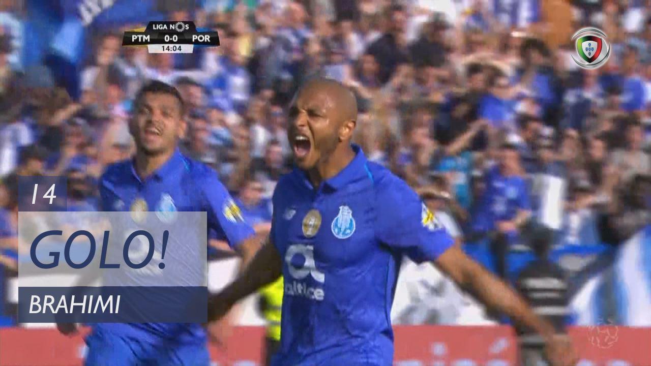 GOLO! FC Porto, Brahimi aos 14', Portimonense 0-1 FC Porto