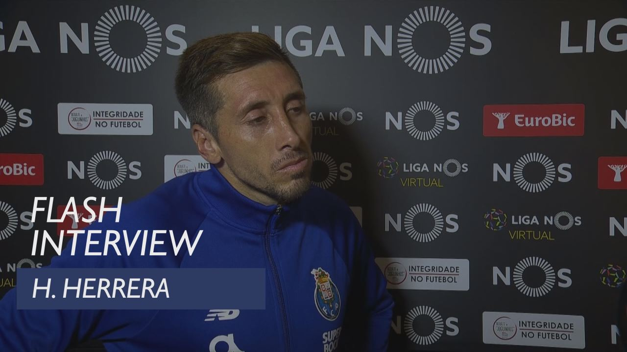 Liga (4ª): Flash interview H. Herrera