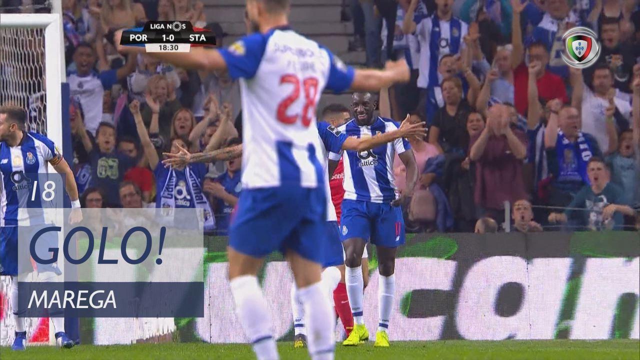 GOLO! FC Porto, Marega aos 18', FC Porto 1-0 Sta. Clara