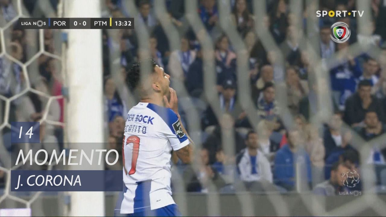 FC Porto, Jogada, J. Corona aos 14'