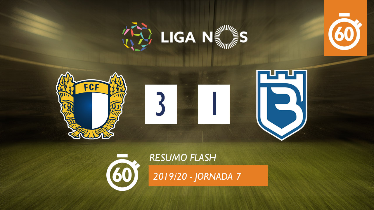 I Liga (7ªJ): Resumo Flash FC Famalicão 3-1 Belenenses