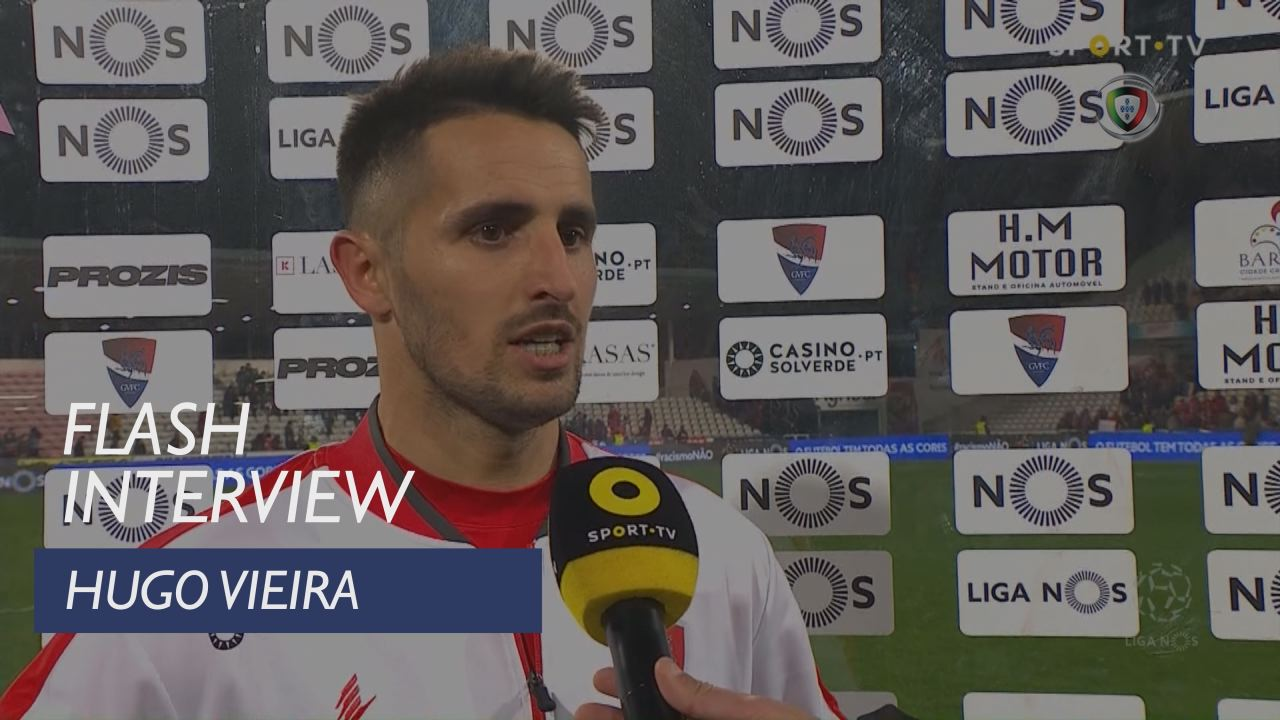 Liga (22ª): Flash Interview Hugo Vieira