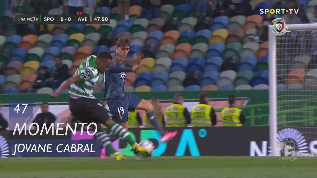 Sporting CP, Jogada, Jovane Cabral aos 47'