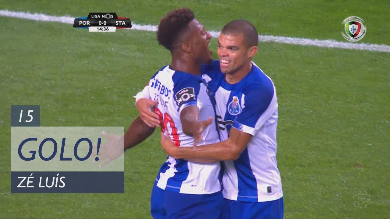 GOLO! FC Porto, Zé Luís aos 15', FC Porto 1-0 Santa Clara