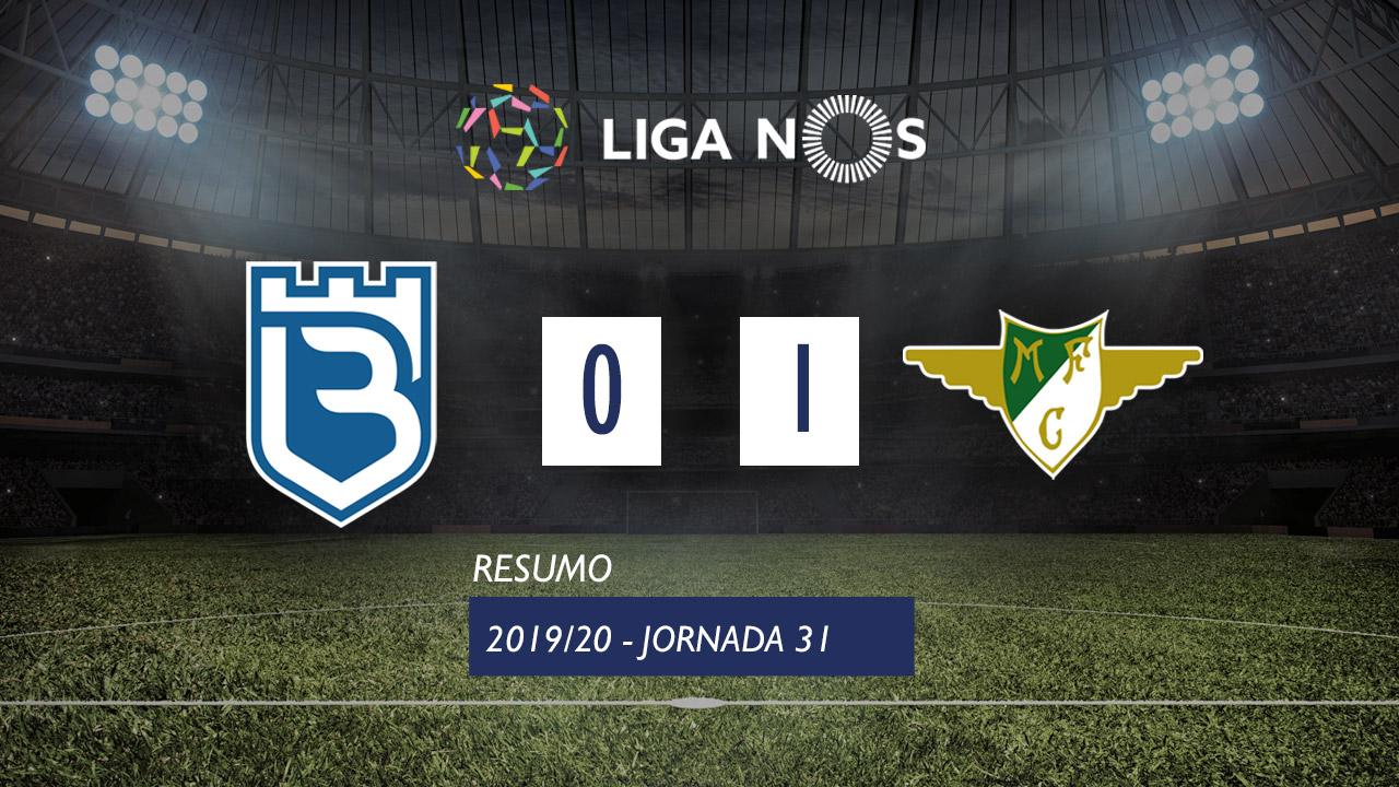 I Liga (31ªJ): Resumo Belenenses 0-1 Moreirense FC