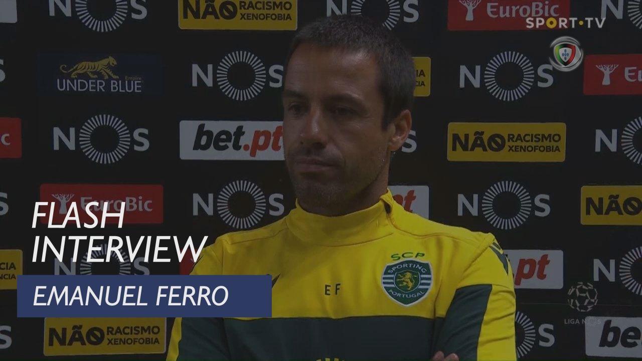 """Emanuel Ferro: """"É uma noite de vitória"""""""