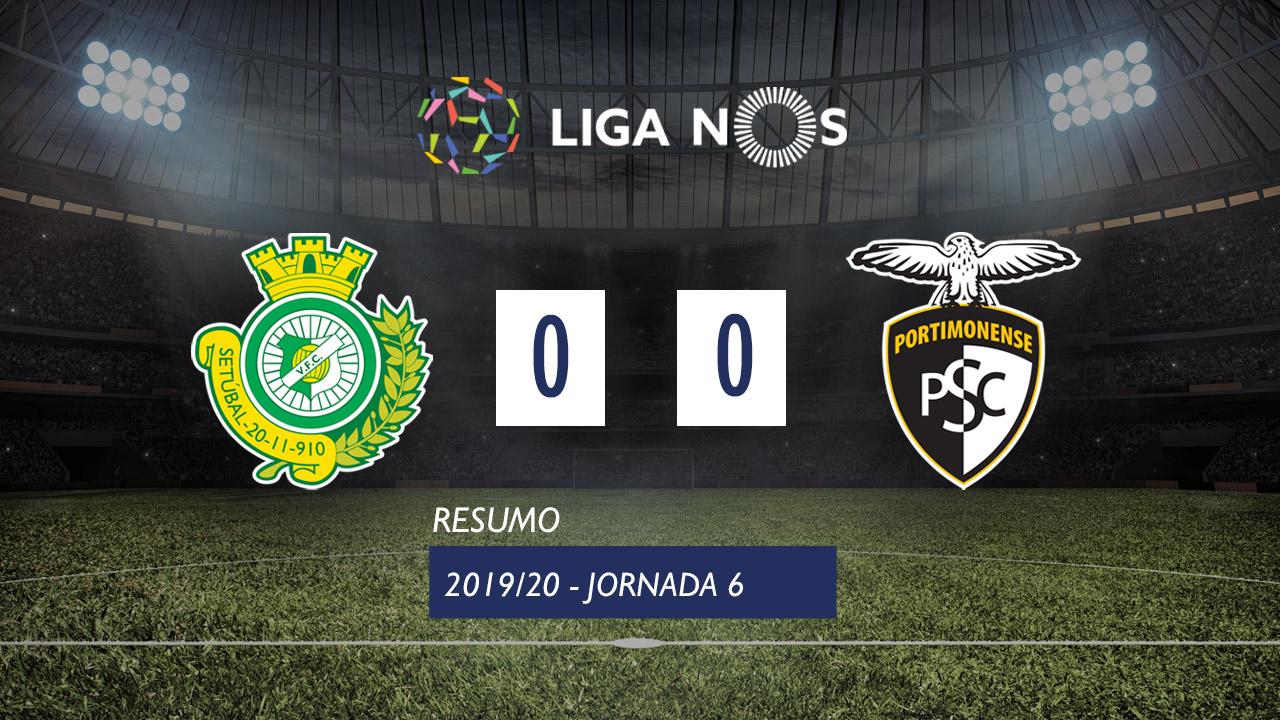 Liga NOS (6ªJ): Resumo Vitória FC 0-0 Portimonense