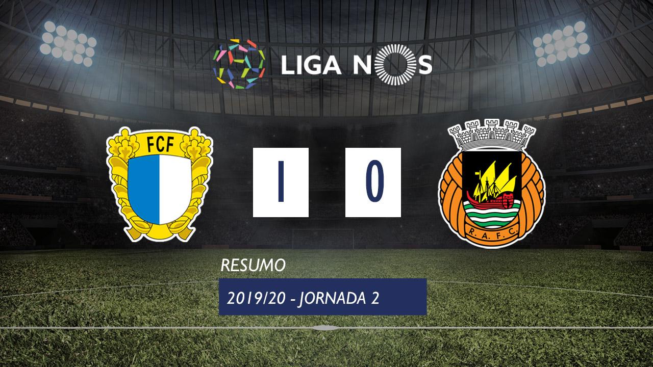 Liga NOS (2ªJ): Resumo FC Famalicão 1-0 Rio Ave FC