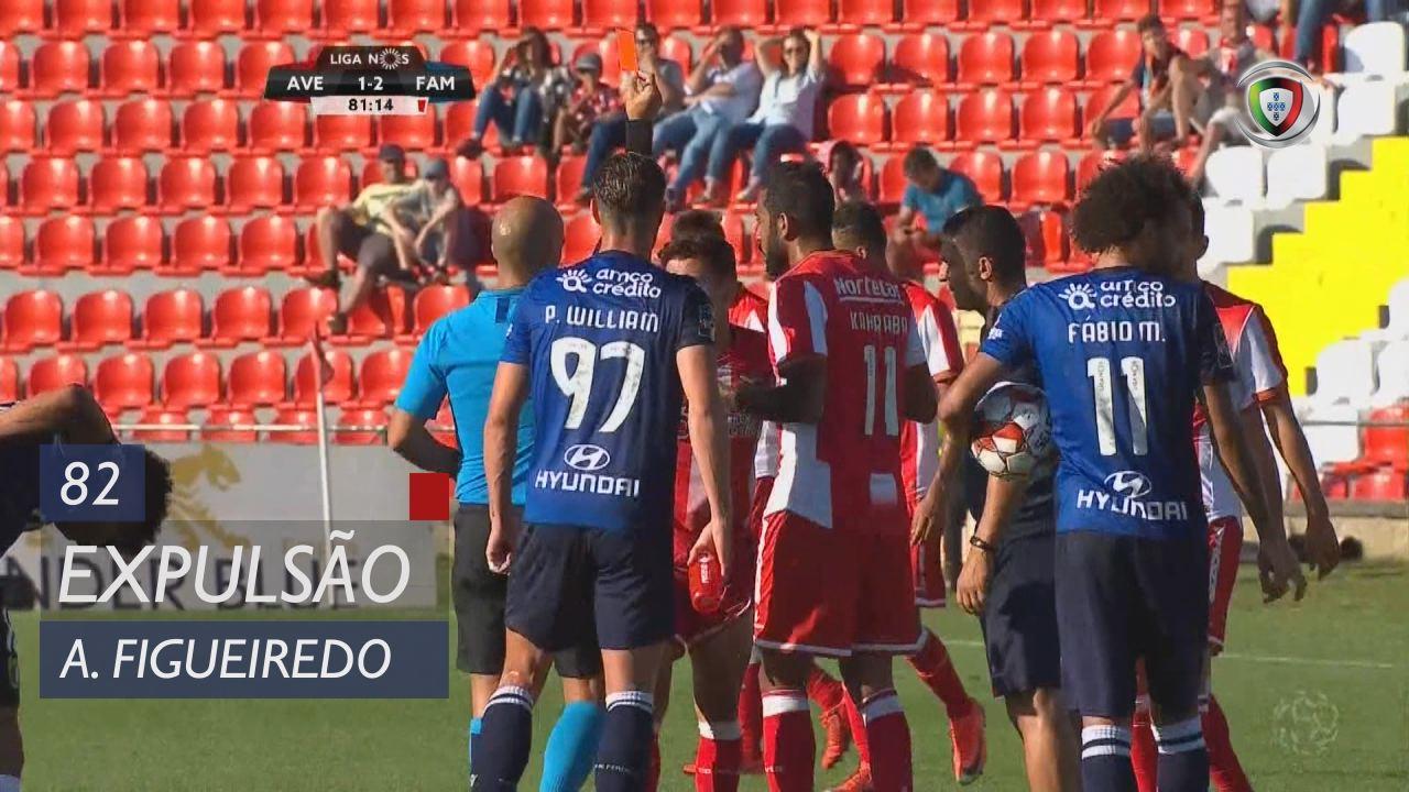 CD Aves, Expulsão, Afonso Figueiredo aos 82'