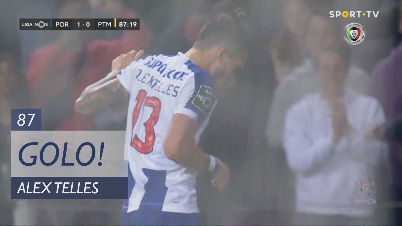 GOLO! FC Porto, Alex Telles aos 87', FC Porto 1-0 ...