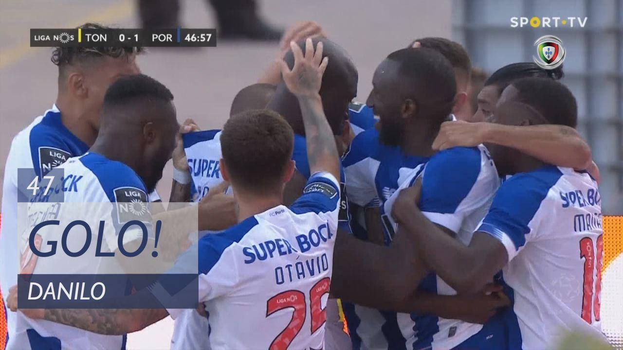 GOLO! FC Porto, Danilo aos 47', CD Tondela 0-1 FC ...