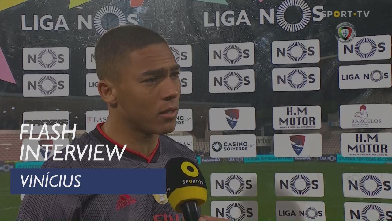 Liga (22ª): Flash Interview Vinícius