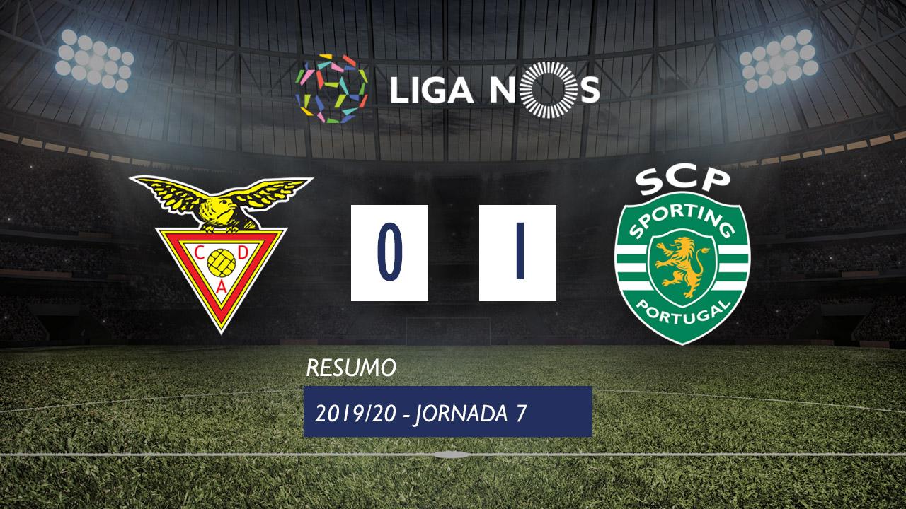 I Liga (7ªJ): Resumo CD Aves 0-1 Sporting CP