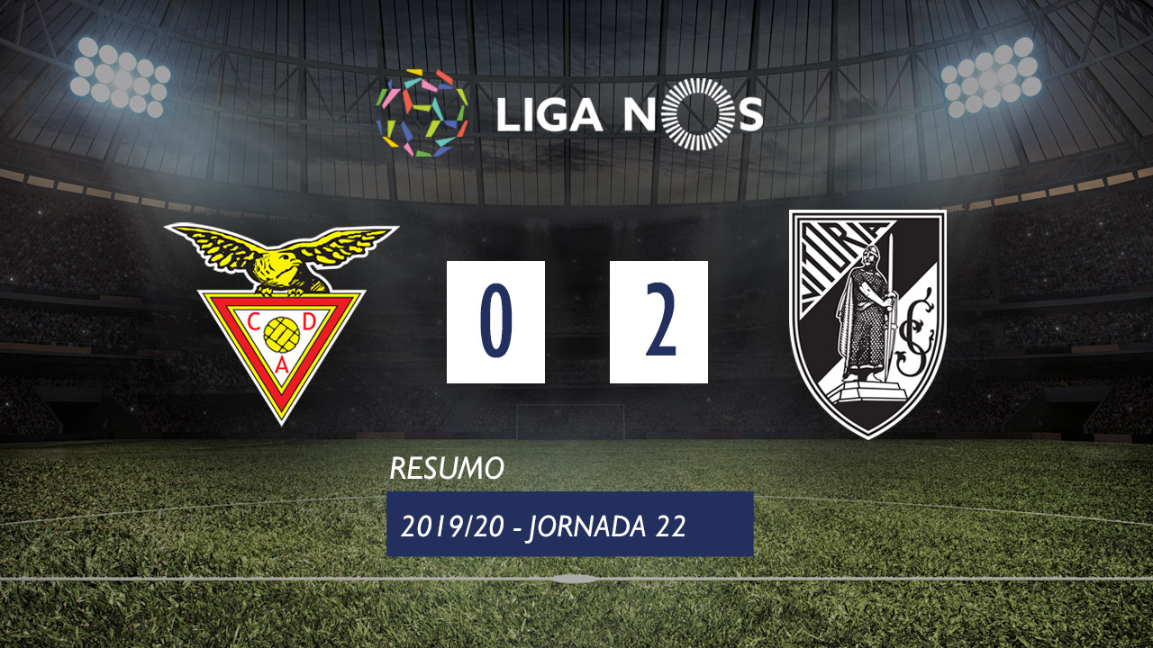 I Liga (22ªJ): Resumo CD Aves 0-2 Vitória SC