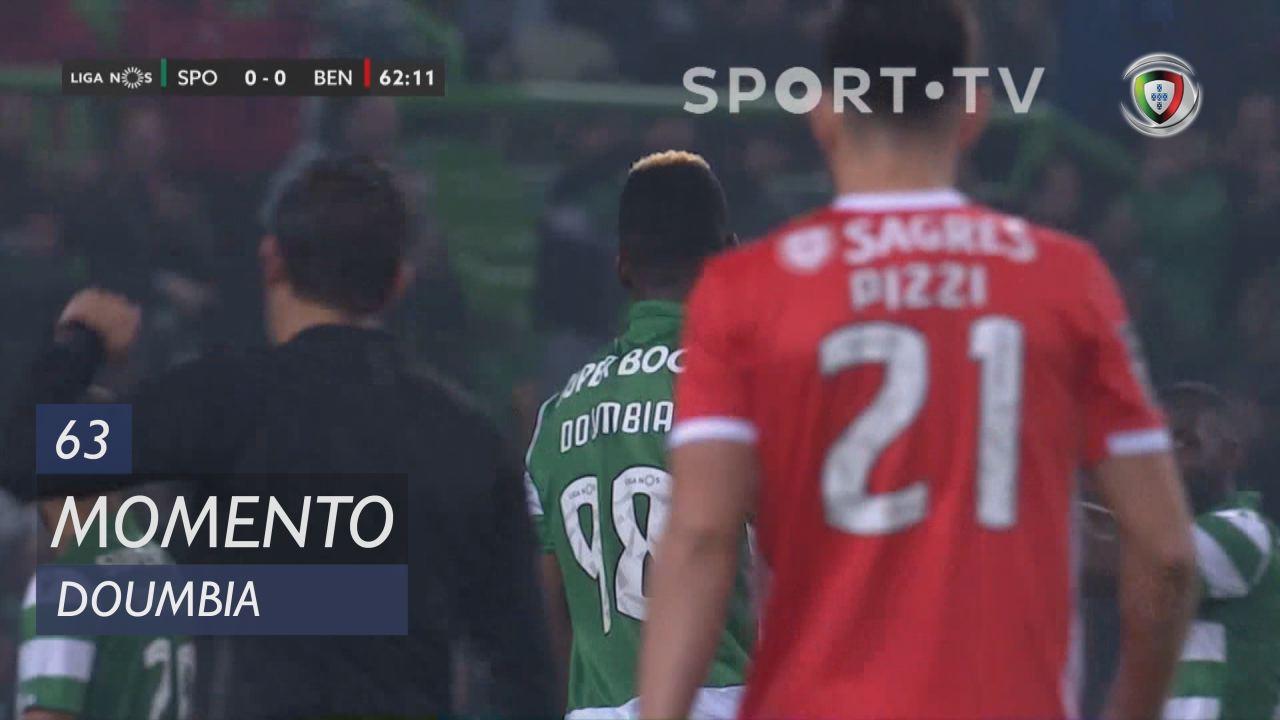 Sporting CP, Jogada, Doumbia aos 63'