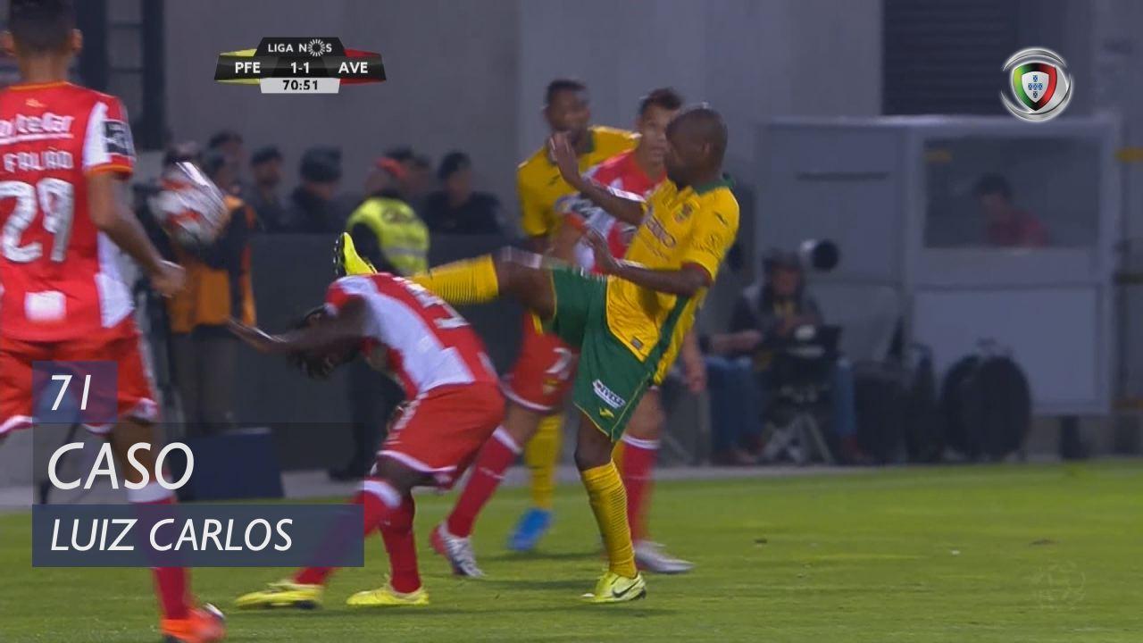FC P.Ferreira, Caso, Luiz Carlos aos 71'