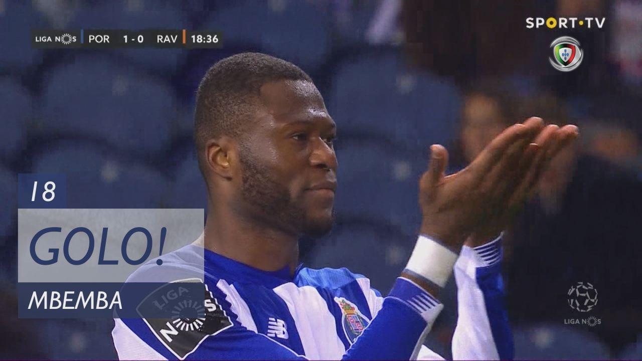 GOLO! FC Porto, Mbemba aos 18', FC Porto 1-0 Rio Ave FC