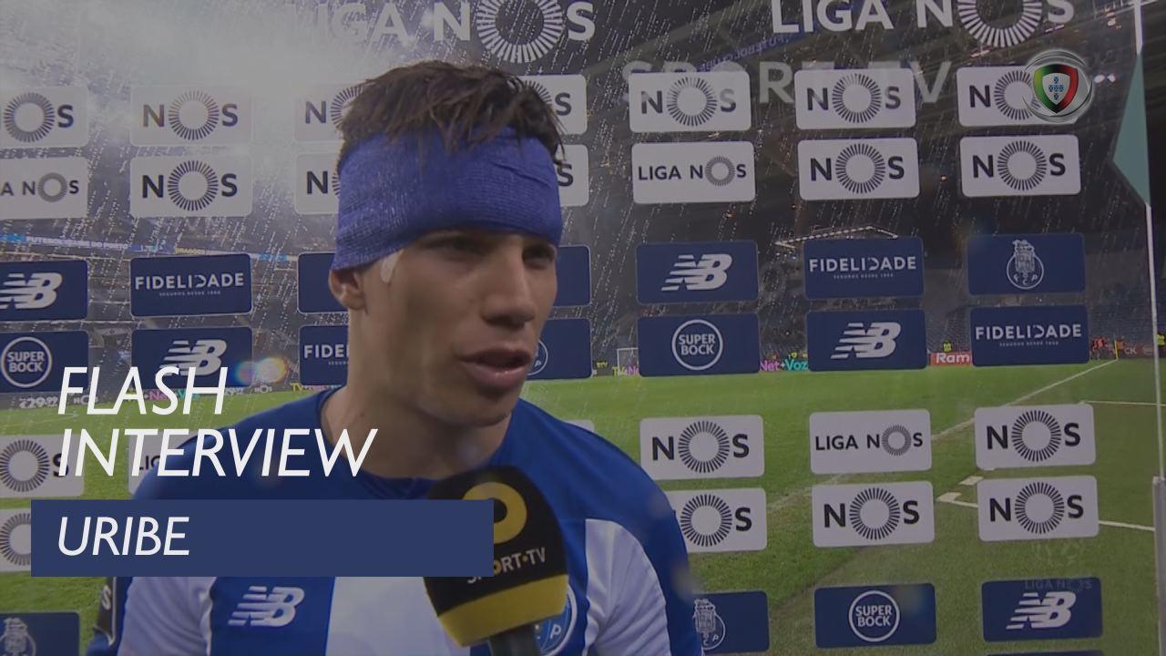 Liga (18ª): Flash Interview Uribe