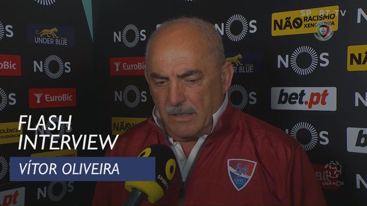 Liga (22ª): Flash Interview Vítor Oliveira