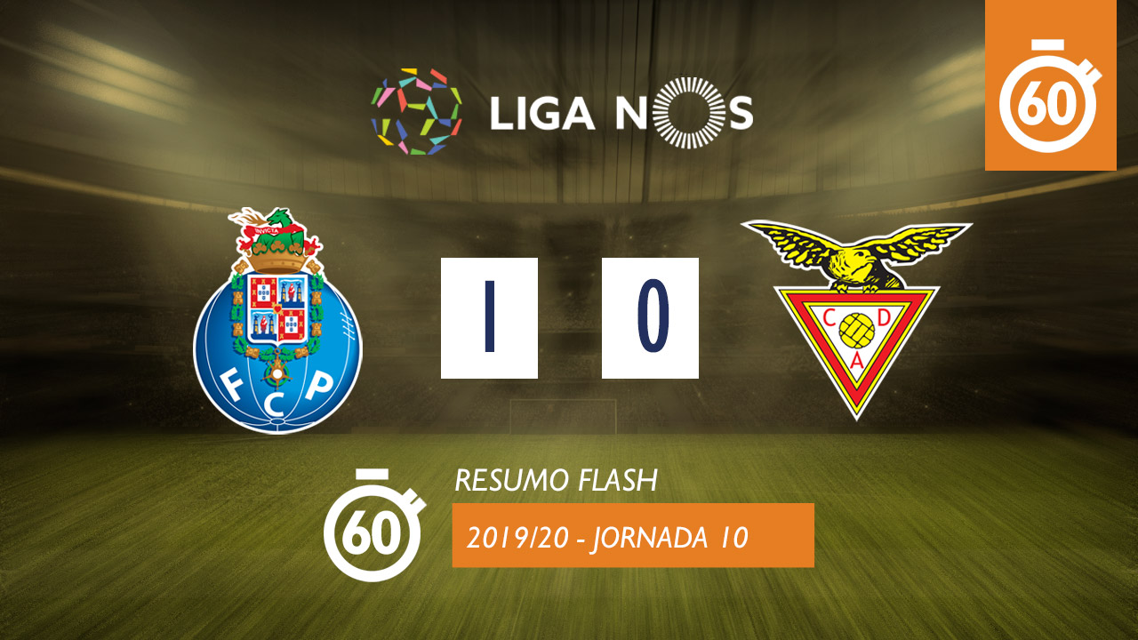 I Liga (10ªJ): Resumo Flash FC Porto 1-0 CD Aves