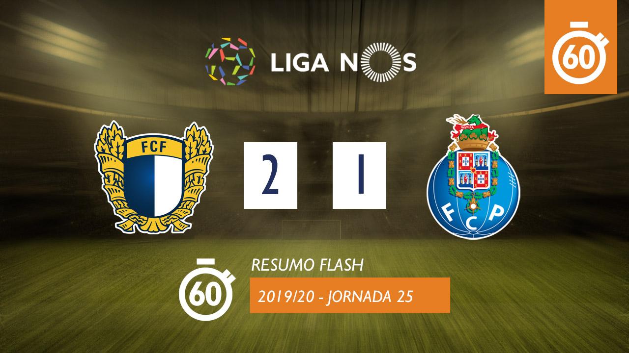 I Liga (25ªJ): Resumo Flash FC Famalicão 2-1 FC Porto