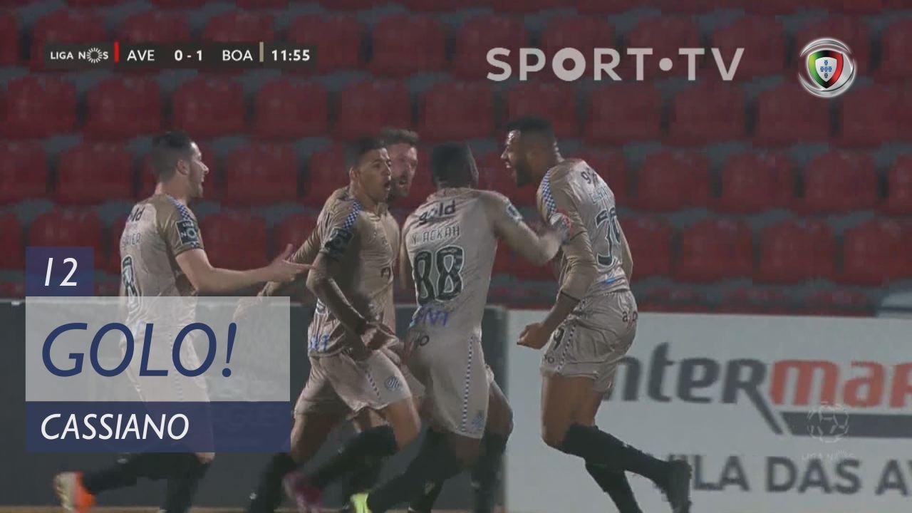 GOLO! Boavista FC, Cassiano aos 12', CD Aves 0-1 B...