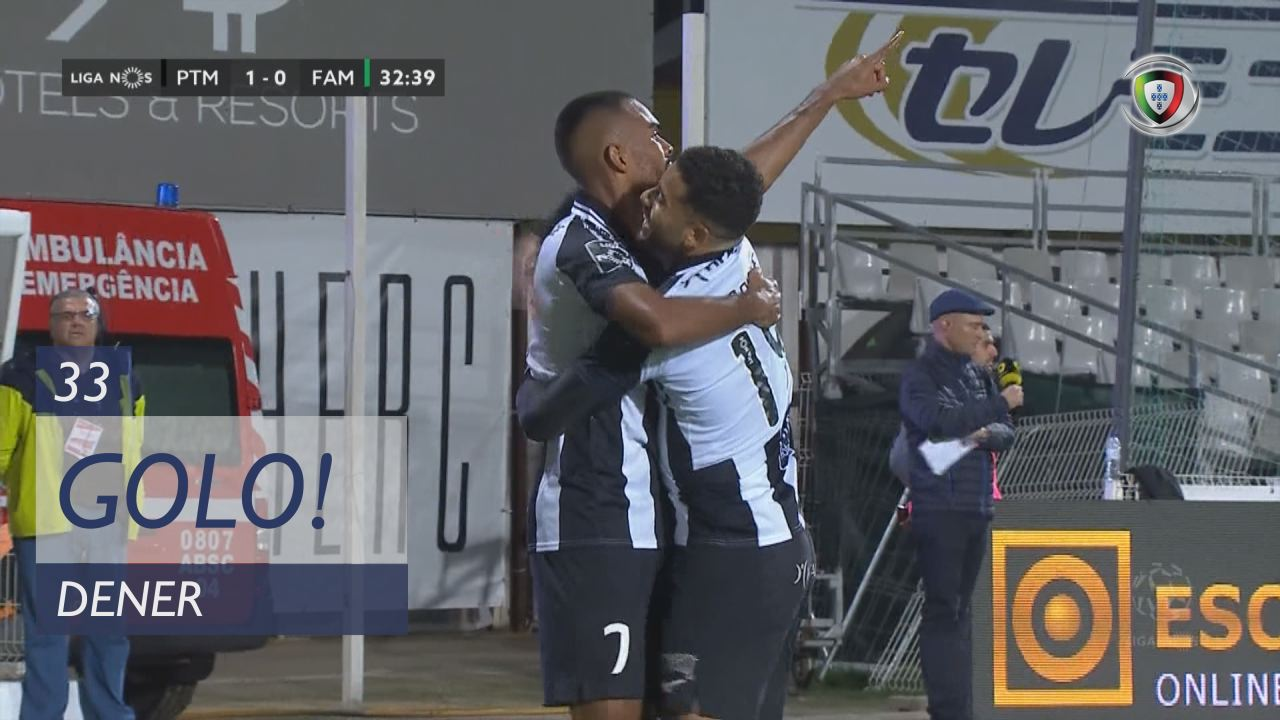 GOLO! Portimonense, Dener aos 33', Portimonense 1-0 FC Famalicão