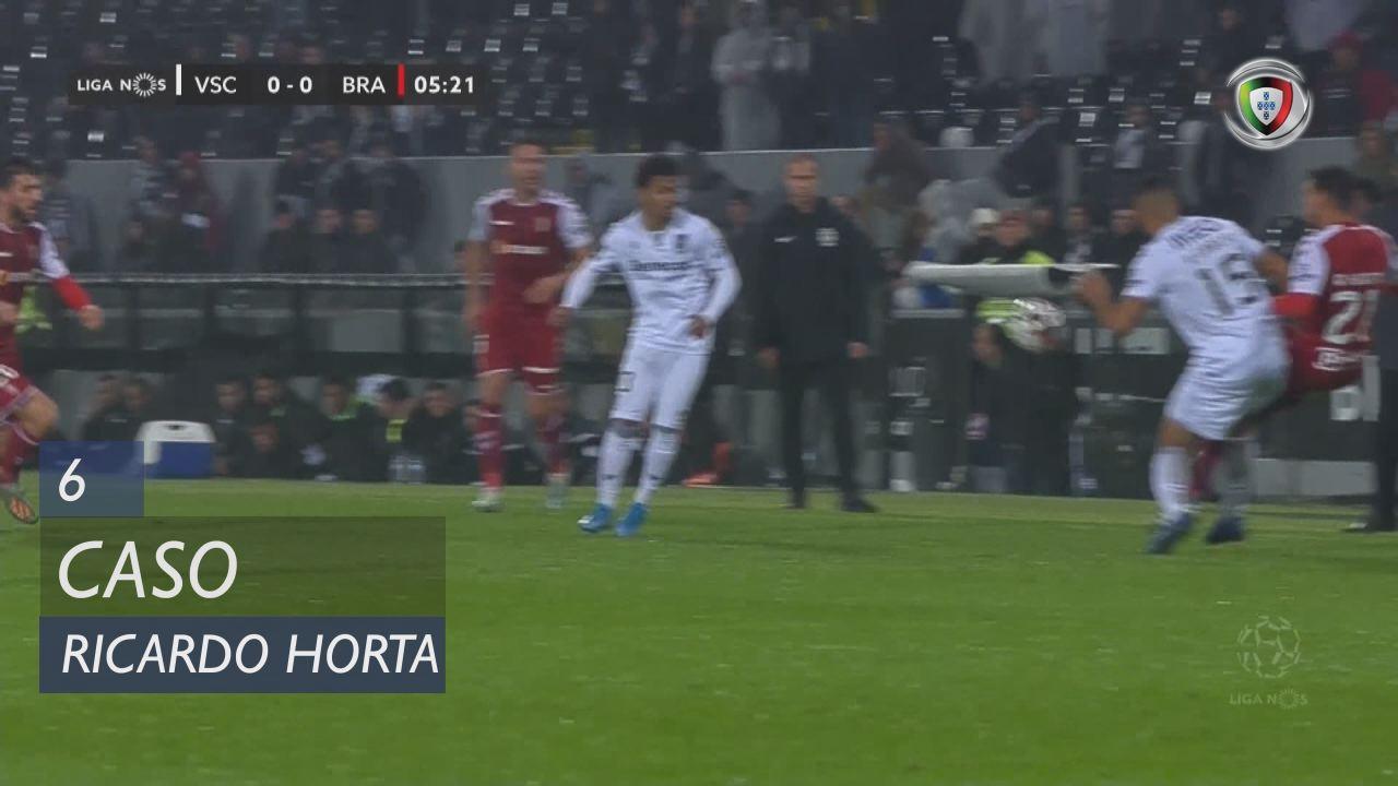 SC Braga, Caso, Ricardo Horta aos 6'