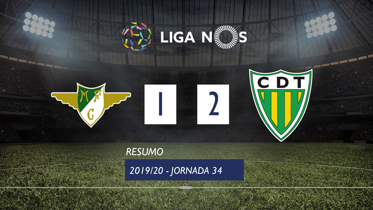I Liga (34ªJ): Resumo Moreirense FC 1-2 CD Tondela