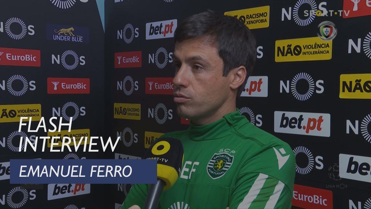 Liga (22ª): Flash Interview Emanuel Ferro