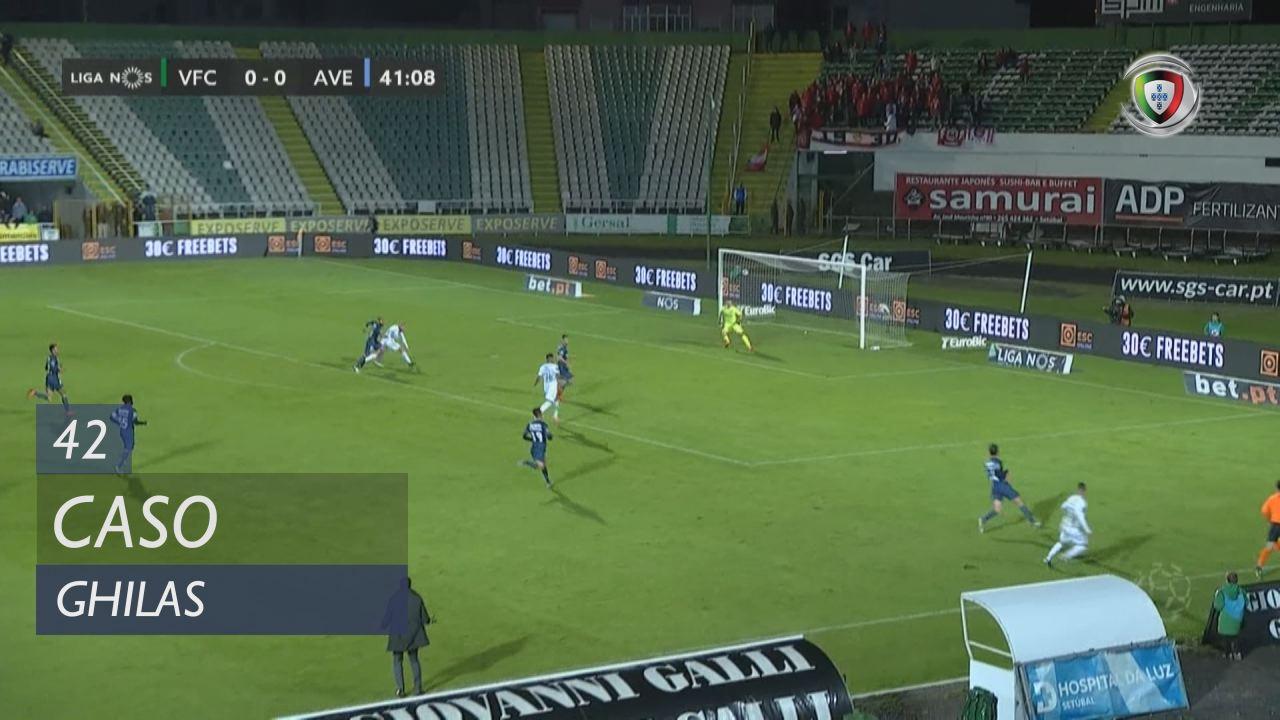 Vitória FC, Caso, Ghilas aos 42'